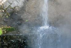 杖立温泉 湯けむり1