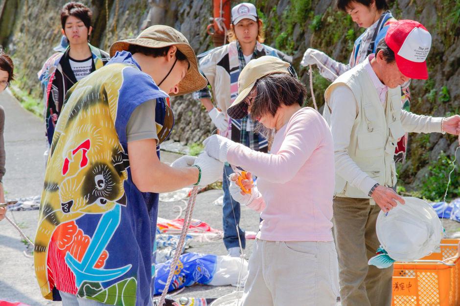 杖立 鯉のぼり祭り2