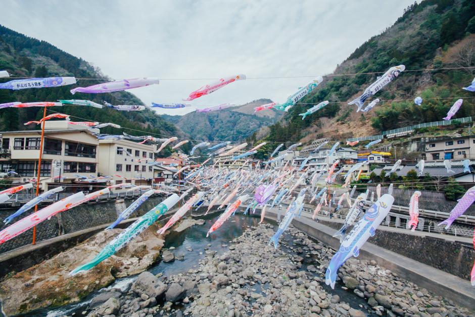 杖立 鯉のぼり祭り4